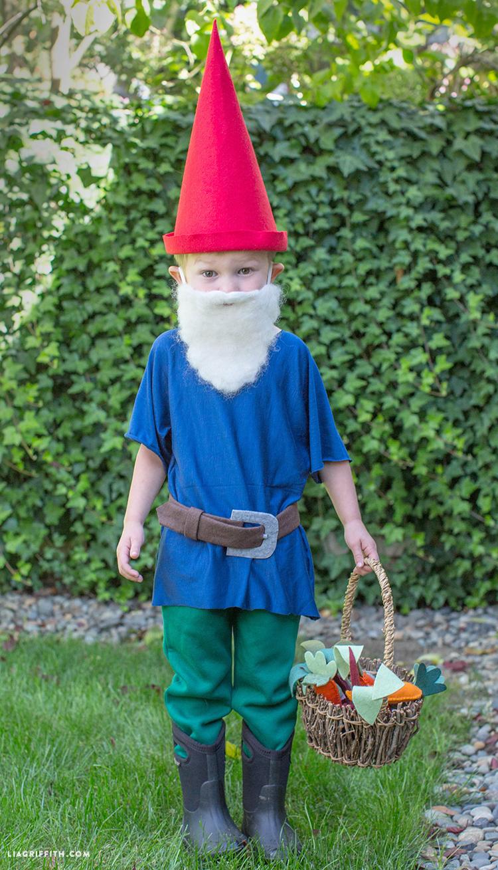DIY Gnome Costume Lia Griffith