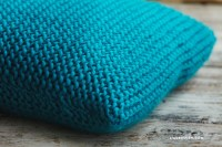 Easy Garter Stitch Knitted Pillows - Lia Griffith