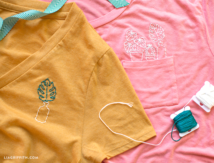 T-Shirt Embroidery Tutorial
