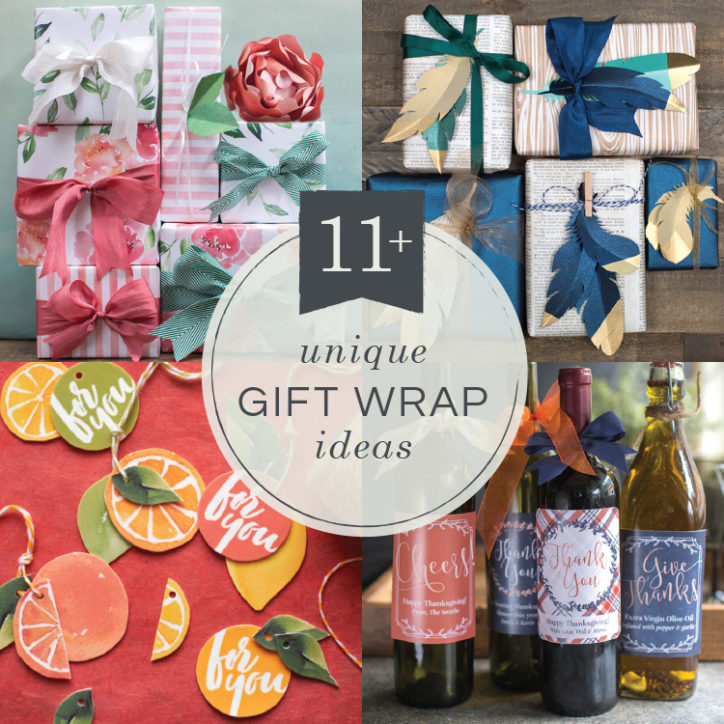 11 unique gift wrapping