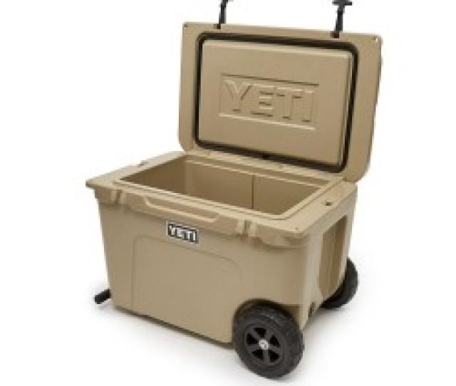 Image From Yeti Tundra Haul Wheeled Cooler Tan