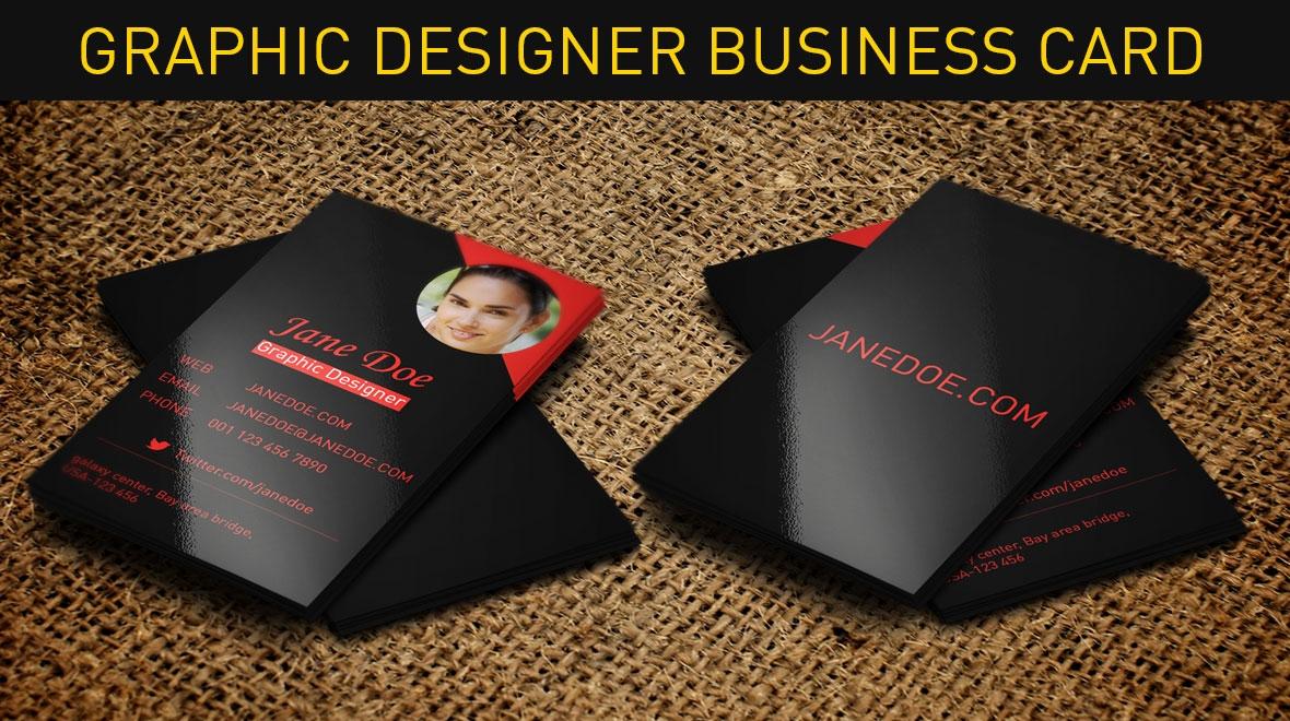 Graphic  Designer Business Card  Logos  Graphics