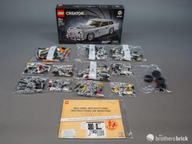 Top Secret Lego 10262 James Bond Aston Martin Db5 Review The