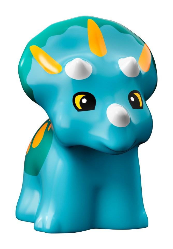 LEGO Jurassic World 10879 Gentle Giants Petting Zoo - blue dino