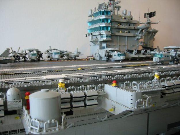 LEGO Harry S. Truman flight deck