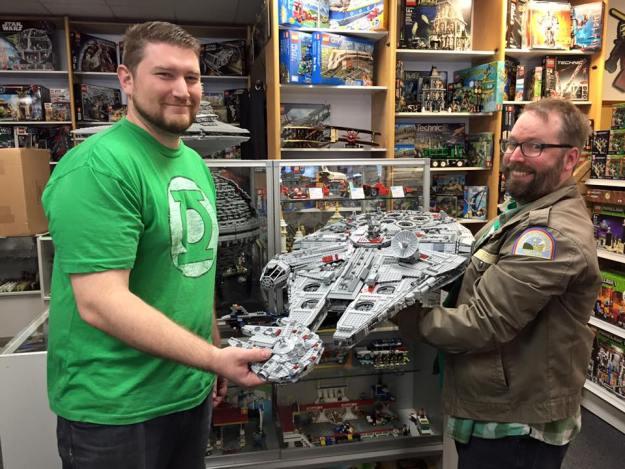 Andrew & Aaron at Bricks & Wheels Bellevue