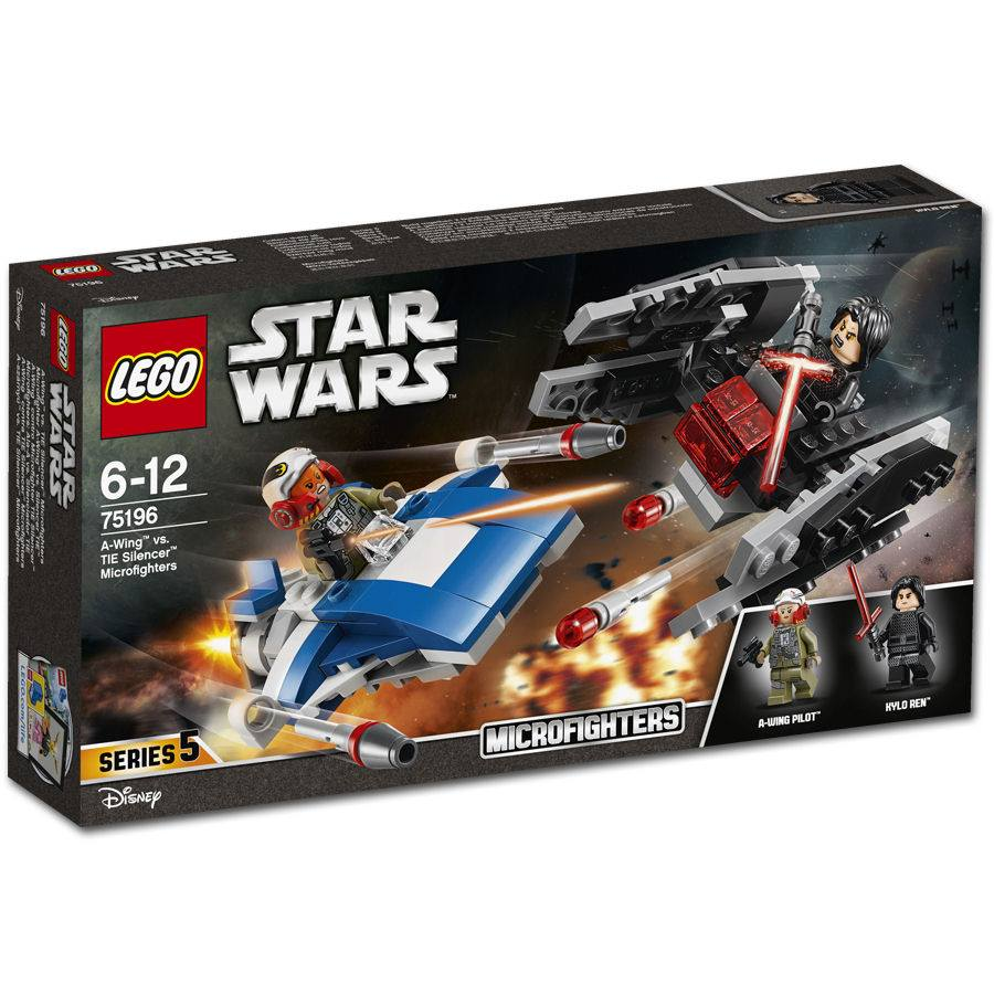 75196 A-Wing vs Tie Silencer