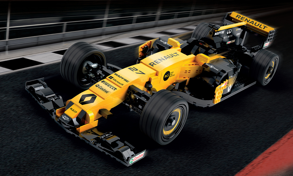renault is celebrating 40 years of its formula one racing team with rh brothers brick com Formula 3 Formula 5