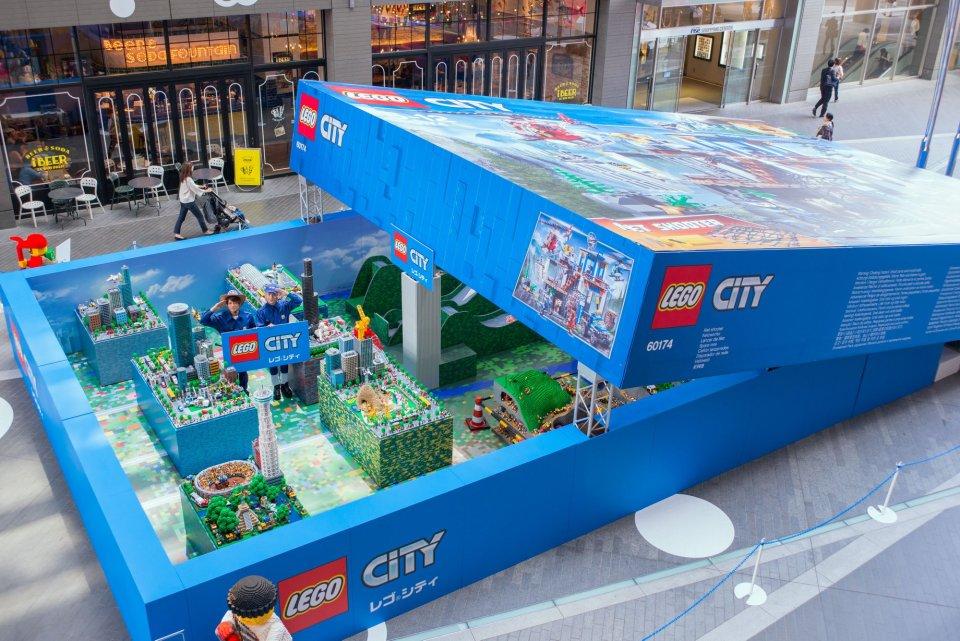 LEGO Japan LEGO City giant box