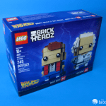 41611 Back To the Future BrickHeadz Box Top Angle Profile