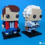 41611 Back To the Future BrickHeadz Doc and Marty Duo Left Facing