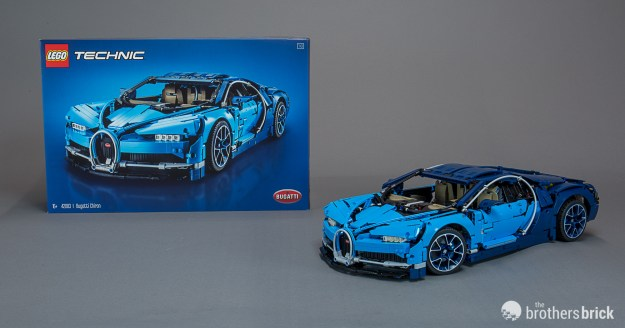 Lego Technic 42083 Bugatti Chiron The Worlds Most Luxurious