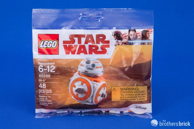 Lego Star Wars 40288 Bb 8 May The Fourth Free Promo Set Review And