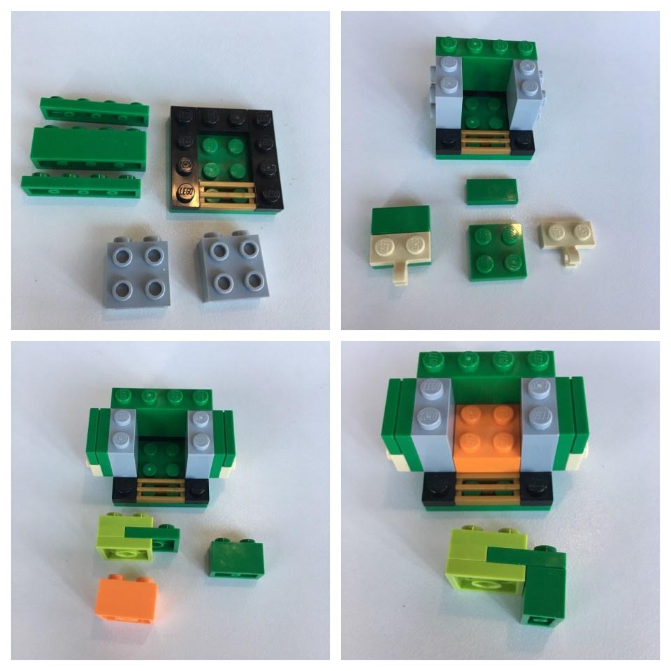LEGO BrickHeadz Leprechaun instructions - Step 6