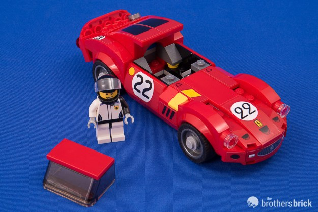 Lego Speed Champions 75889 Ferrari Ultimate Garage Review The
