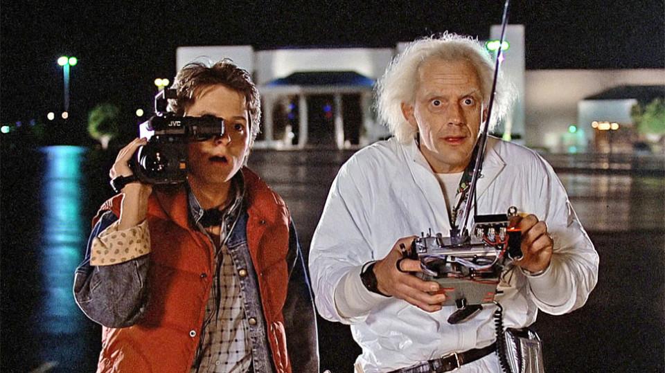 Back To the Future Movie Scene