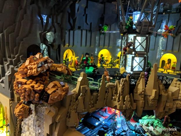 Incredible Fully Lit Lego Batman Wayne Manor With Huge Batcave