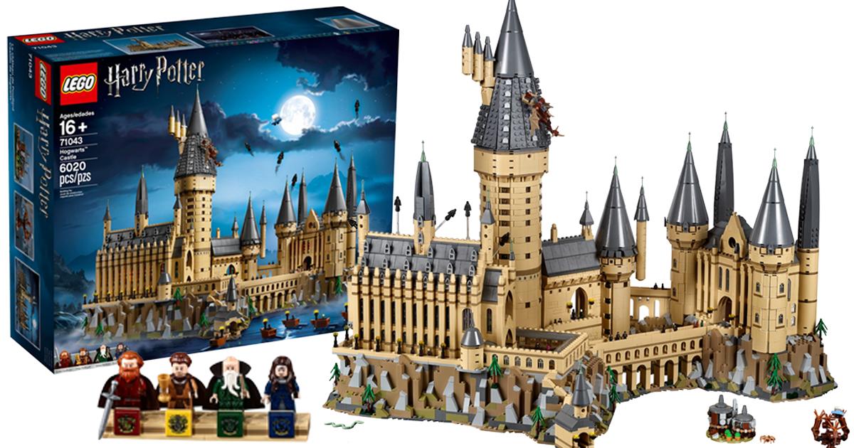 New 6000 Piece Lego Harry Potter Hogwarts Castle 71043 Revealed As
