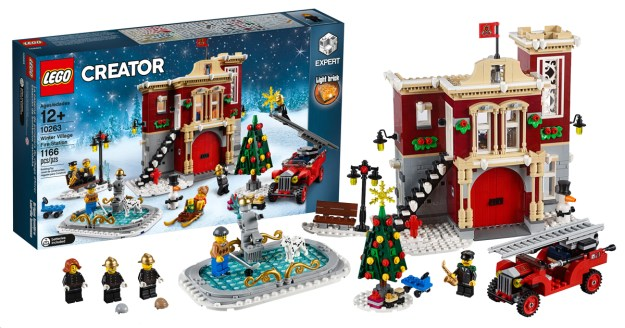 the set will retail for 9999 starting on october 1 with lego vip availability beginning on september 13 it has been six years since the yearly holiday