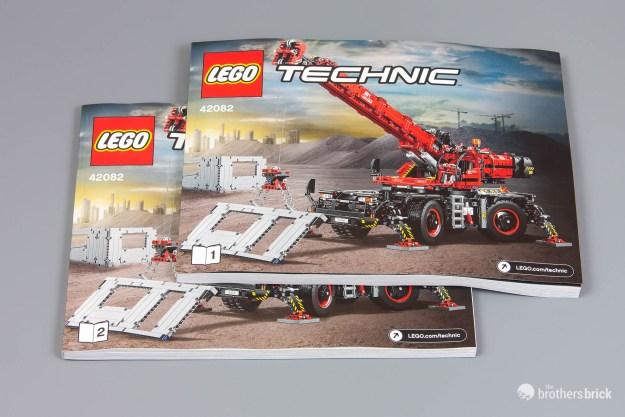 The Biggest Lego Technic Set Ever 42082 Rough Terrain Crane Review