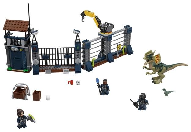 LEGO 75931 Jurassic World - Dilophosaurus Outpost Attack - Box Front