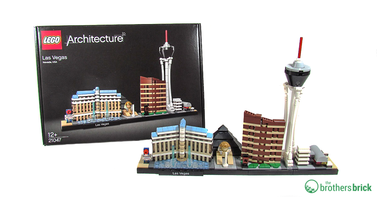 Lego Architecture 21047 Las Vegas Review The Brothers