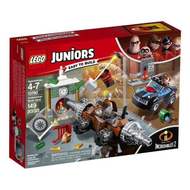 LEGO Juniors - Incredibles 2 - 10760 Underminer - Box Front