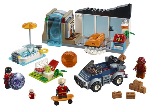 LEGO Juniors - Incredibles 2 - 10761 The Great Home Escape - Set Accessories