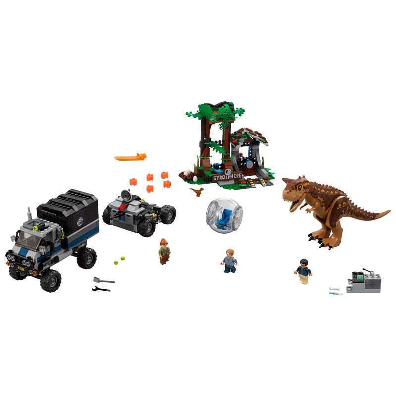 LEGO Jurassic World-75929-Carnotaurus Gyrosphere Escape 2