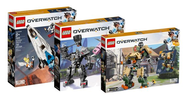 Full lineup of LEGO Blizzard Overwatch sets revealed, available in January [News]