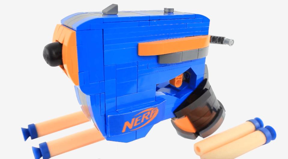 Nerf Gun Display Standing