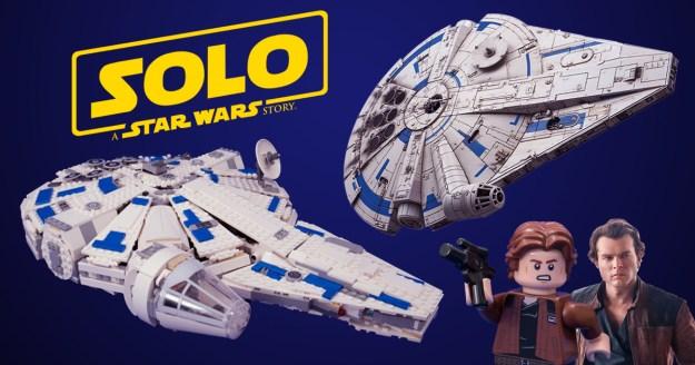 Solo Movie LEGO Comparisons