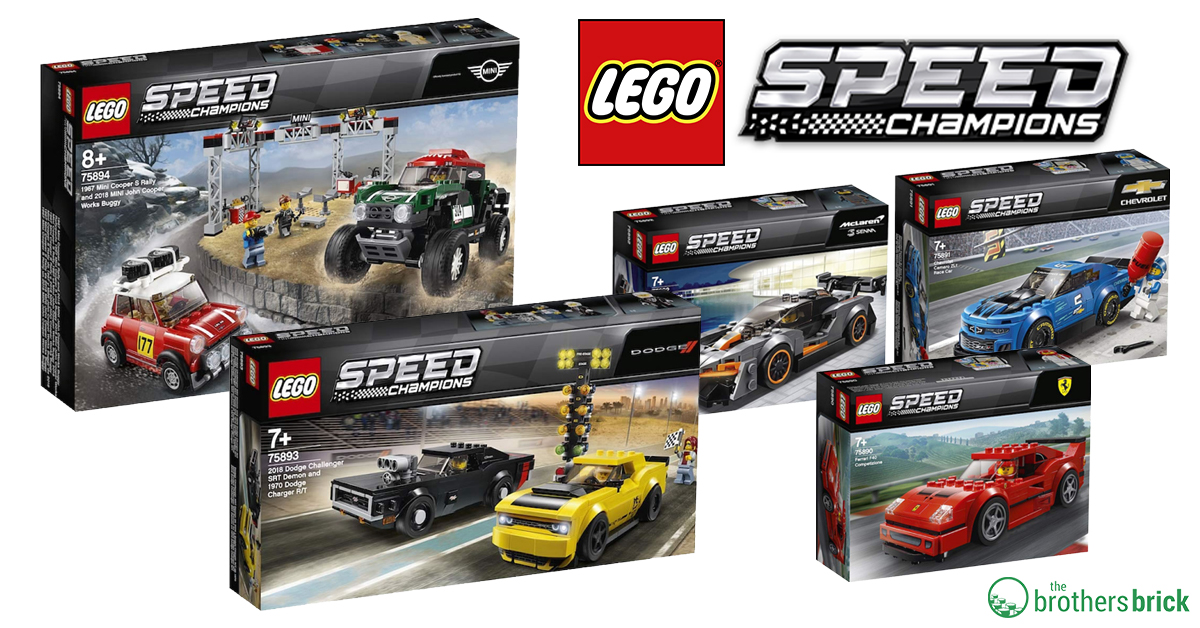 lego speed champions 2019 sets revealed includes mini. Black Bedroom Furniture Sets. Home Design Ideas