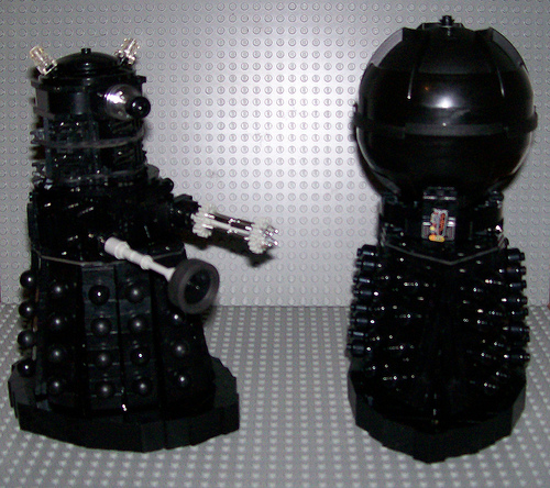 Steven Locke's Dalek and Davros