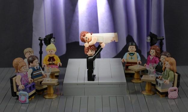 LEGO Dirty Dancing Theatre Scene