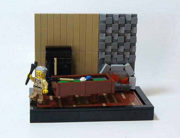Clue Board Game: The Billiard Room
