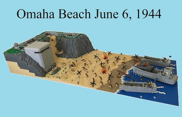 D-Day Omaha Beach, Normandy