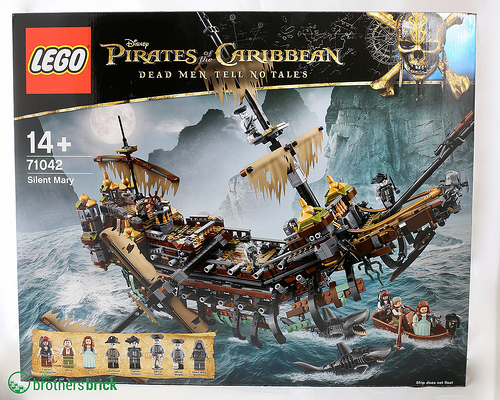 New Lego Sets From Pirates Of The Caribbean Dead Men Tell