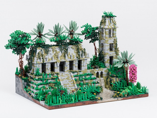 Temple in the Jungles of Celestia