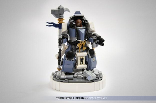 Rune Priest in Terminator Armour