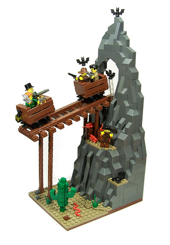 Lego Wild West Big Thunder Mountain