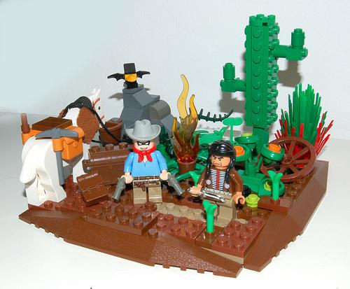 LEGO Lone Ranger and Tonto