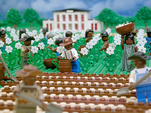 LEGO Brick Testament - Epistles on Slavery