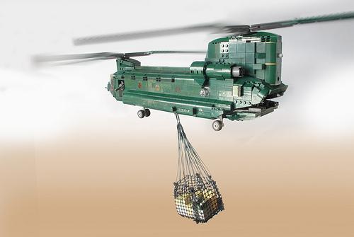 Chinook HC2: door-to-door delivery (9)