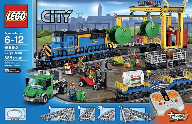 LEGO City 60052 Cargo Train on Amazon