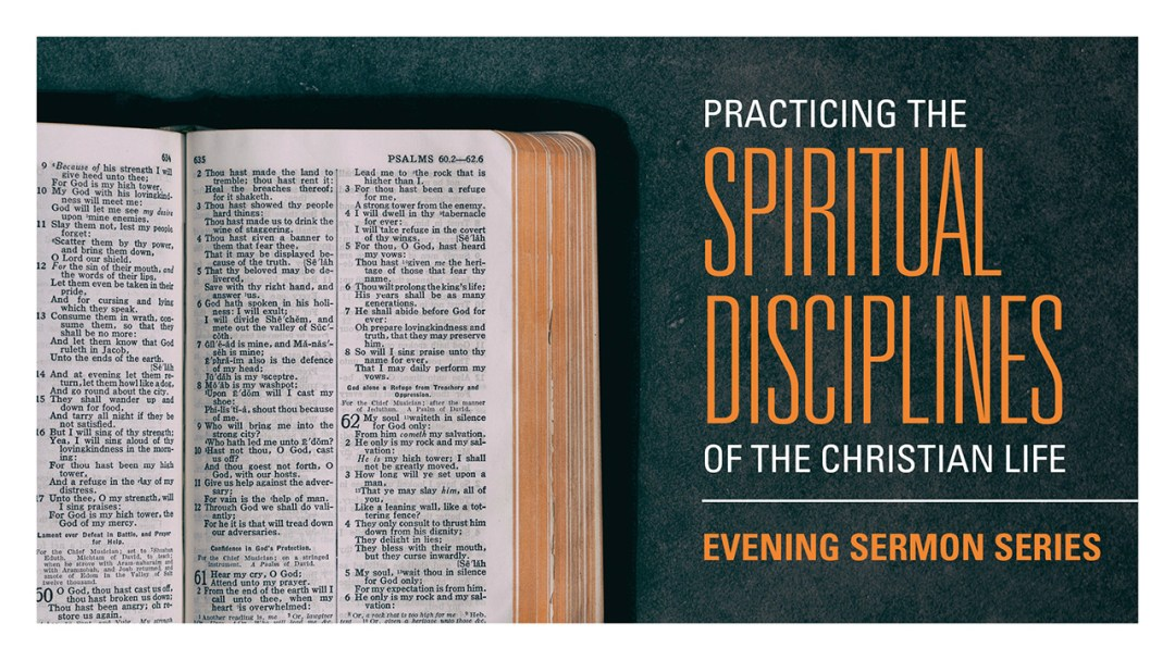 Introduction:  Spiritual Disciplines Image