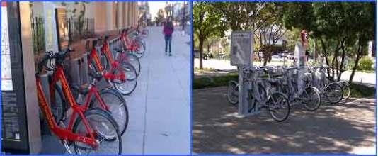 Rente una bicicleta o camine, pero no maneje en distancias cortas.