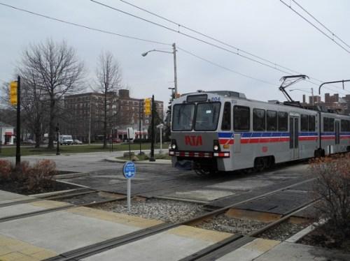 Los trenes de Cleveland RTA fueron entre los que vieron un incemento en usuarios durante 2011. (Foto Matt Johnson, vía Flickr creative commons.)