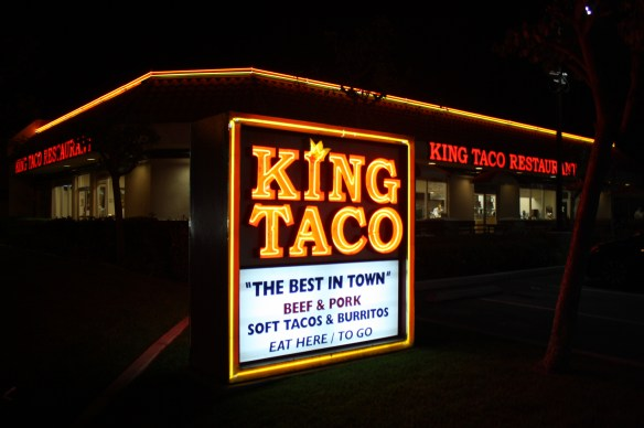 En King Taco el verdadero rey es usted. (Foto de Agustín Durán/El Pasajero).