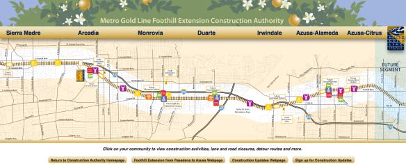 map screen shot Foothill